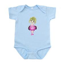 Ballerina in Pink Tutu art Infant Bodysuit