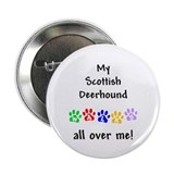 Scottish Deerhound Walks Button