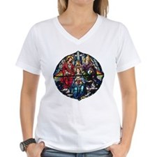 The Crowning of Mary in stained glass Shirt