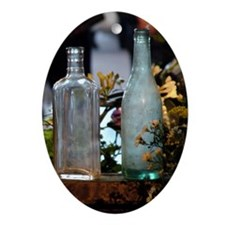 RIFS Bottles Oval Ornament
