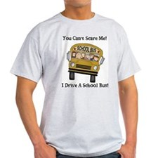 Bus Driver Ash Grey T-Shirt