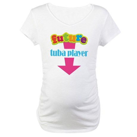 Future Tuba Player Maternity T-Shirt