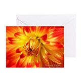 Greeting Card - Chakra Cards, Sacral, Dahlia