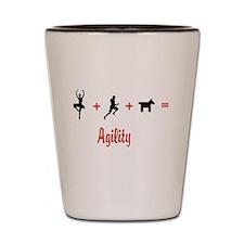 Equals Agility Shot Glass