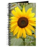 Journal - Navel Chakra, Yellow sunflower