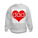 I love Dad Sweatshirt