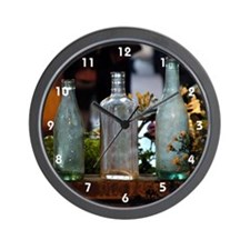 RIFS Bottles Wall Clock