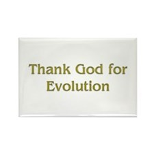 thank god for evolution Rectangle Magnet (10 pack)