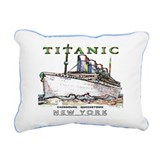 Unique Rms titanic Rectangular Canvas Pillow