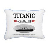 Titanic Ghost Ship (white) Rectangular Canvas Pill