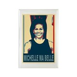 FLOTUS Michelle Obama Pop Art Rectangle Magnet