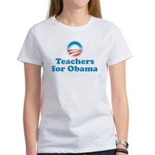 Teachers for Obama Tee