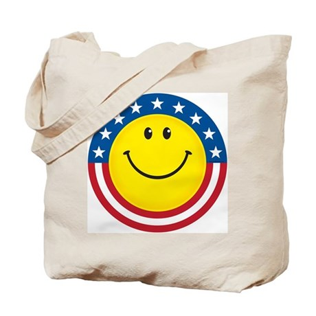 Smile for USA: Tote Bag