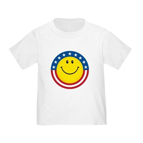 Smile for USA: Toddler T-Shirt