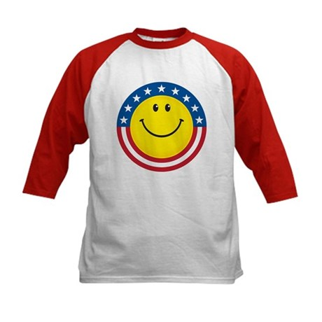 Smile for USA: Kids Baseball Jersey