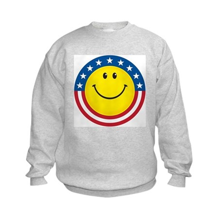 Smile for USA: Kids Sweatshirt