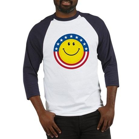 Smile for USA: Baseball Jersey