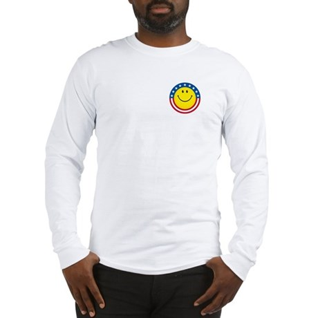 Smile for USA: Long Sleeve T-Shirt