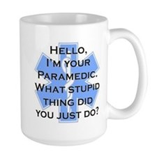 Im Your Paramedic Taza