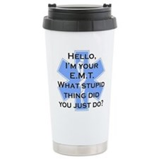 Im your E.M.T. Ceramic Travel Mug