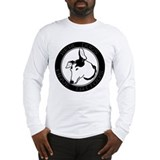 Real Dogs Have Tattoos Long Sleeve T-Shirt