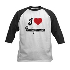 I Love Backgammon Tee