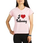 I Love Ballooning Performance Dry T-Shirt