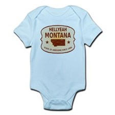 HellYeah Montana Infant Bodysuit