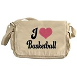 I Love Basketball Messenger Bag