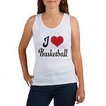 I Love Basketball Women's Tank Top