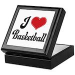 I Love Basketball Keepsake Box