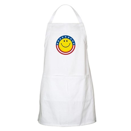 Smile for USA BBQ Apron