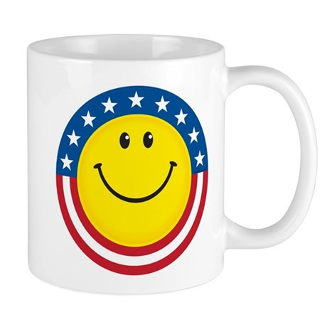 Smile for USA Mug