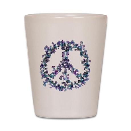 Harmony Flower Peace Shot Glass
