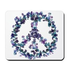 Harmony Flower Peace Mousepad