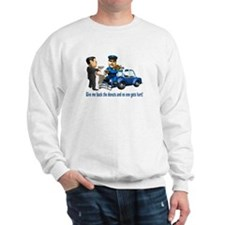But Cops Love Donuts Sweatshirt