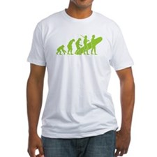 Evolution of Surfing Design Shirt