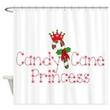 Candy cane princess Shower Curtain