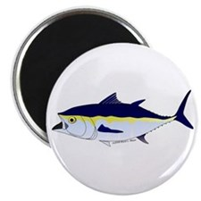 "Bluefin Tuna fish 2.25"" Magnet (10 pack)"