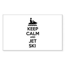 Keep calm and jet ski Bumper Stickers