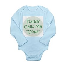 Unique Dad and me Long Sleeve Infant Bodysuit