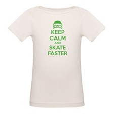 Keep calm and skate faster Tee