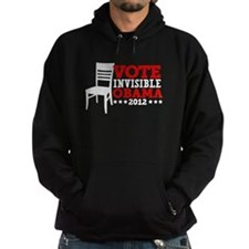 Vote Invisible Obama 2012 Chair Hoodie