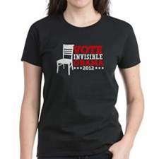 Vote Invisible Obama 2012 Chair Tee