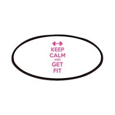 Keep calm and get fit Patches