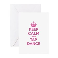 Keep calm and tap dance Greeting Cards (Pk of 20)