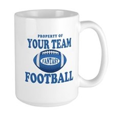 Property of Fantasy Your Team Blue Mug