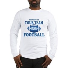 Property of Fantasy Your Team Blue Long Sleeve T-S