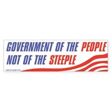 Govt of the People Bumper Sticker