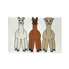 Alpaca (no text) Rectangle Magnet